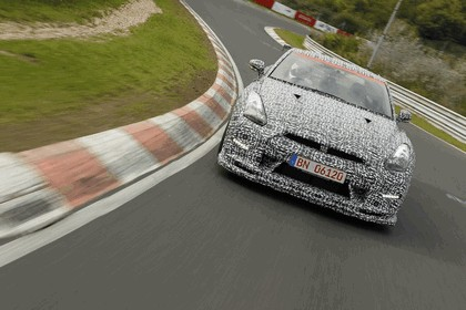 2013 Nissan GT-R ( R35 ) - Nuerburgring-Nordschleife test 15