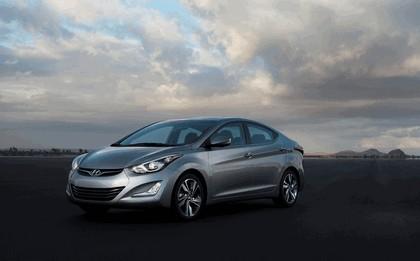 2014 Hyundai Elantra sedan Limited 1