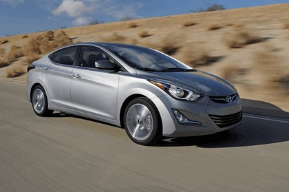 2014 Hyundai Elantra sedan Limited 6