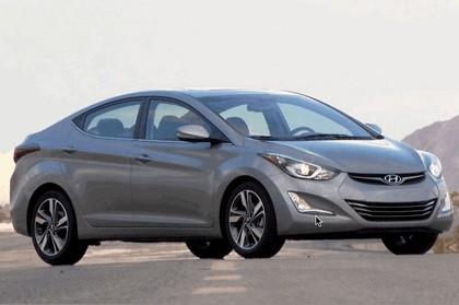 2014 Hyundai Elantra sedan Limited 13