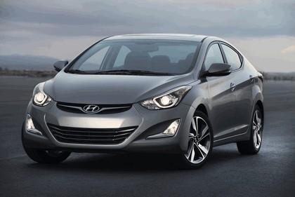 2014 Hyundai Elantra sedan Limited 14