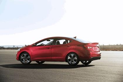 2014 Hyundai Elantra sedan Sport 2