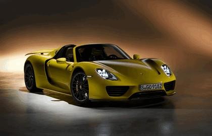 2013 Porsche 918 Spyder - yellow edition 1
