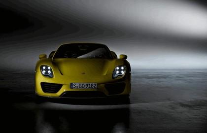 2013 Porsche 918 Spyder - yellow edition 4