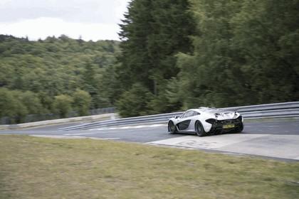 2013 McLaren P1 - Nuerburgring test car 3