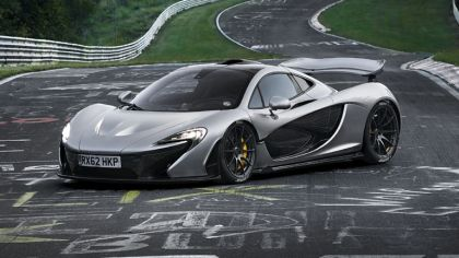 2013 McLaren P1 - Nuerburgring test car 4