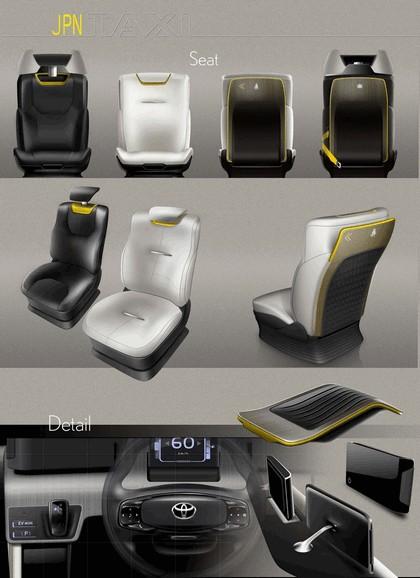 2013 Toyota JPN Taxi concept 27
