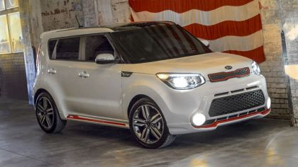 2013 Kia Soul Red Zone edition 1