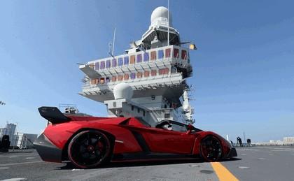 2013 Lamborghini Veneno Roadster - world premiere on Cavour 2