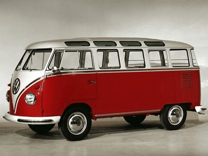 1951 Volkswagen T1 Deluxe Samba Bus 1
