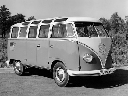 1951 Volkswagen T1 Deluxe Samba Bus 13