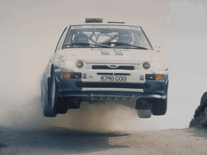 1992 Ford Escort RS Cosworth rally 1