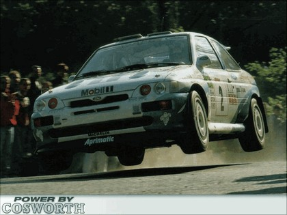 1992 Ford Escort RS Cosworth rally 2