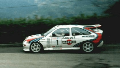 1992 Ford Escort RS Cosworth rally 3
