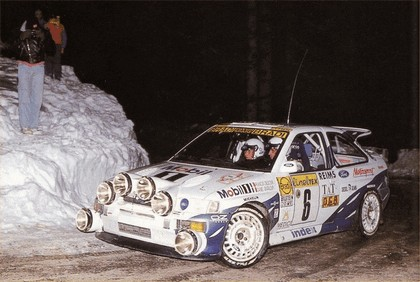 1992 Ford Escort RS Cosworth rally 5