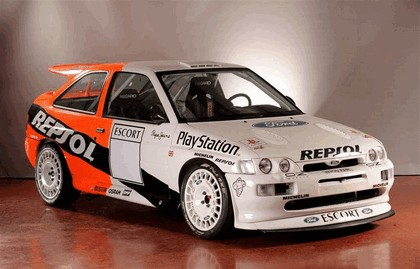 1992 Ford Escort RS Cosworth rally 8