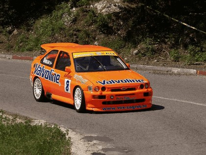 1992 Ford Escort RS Cosworth rally 14