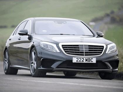 2013 Mercedes-Benz S63 ( W222 ) AMG - UK version 4