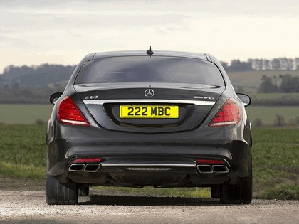 2013 Mercedes-Benz S63 ( W222 ) AMG - UK version 8
