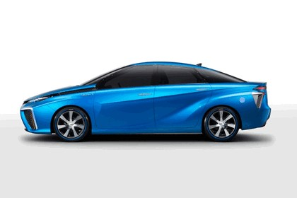 2014 Toyota Fuel Cell Vehicle concept 4
