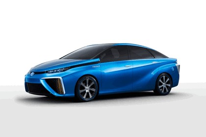 2014 Toyota Fuel Cell Vehicle concept 5