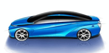 2014 Toyota Fuel Cell Vehicle concept 19
