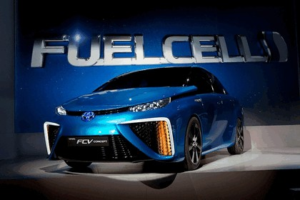 2014 Toyota Fuel Cell Vehicle concept 22