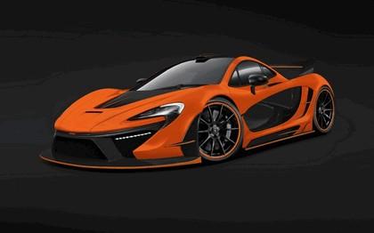 2014 McLaren P1 Night Glow by German Special Customs 1