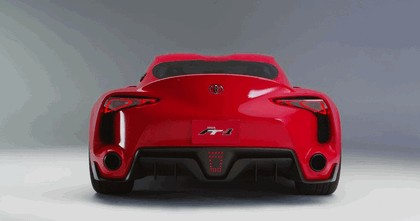 2014 Toyota FT-1 concept 6