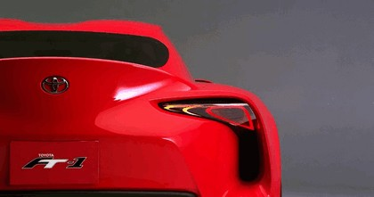 2014 Toyota FT-1 concept 9