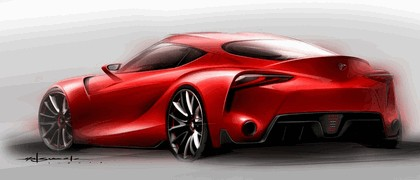 2014 Toyota FT-1 concept 26