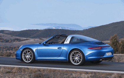 2014 Porsche 911 ( 991 ) Targa 4 3