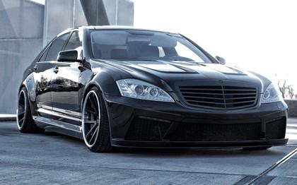 2014 Mercedes-Benz S-klasse ( W221 ) PD Black Edition V2 by Prior Design 1