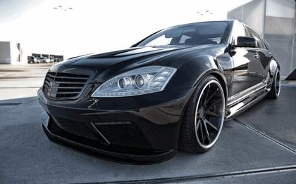 2014 Mercedes-Benz S-klasse ( W221 ) PD Black Edition V2 by Prior Design 3