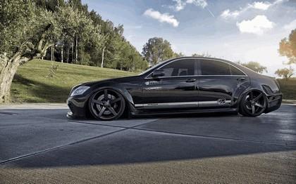 2014 Mercedes-Benz S-klasse ( W221 ) PD Black Edition V2 by Prior Design 7