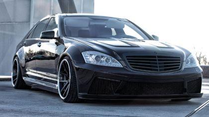 2014 Mercedes-Benz S-klasse ( W221 ) PD Black Edition V2 by Prior Design 5