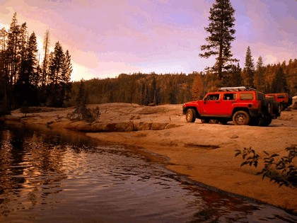 2007 Hummer H3 Rubicon Trail Off-road 2