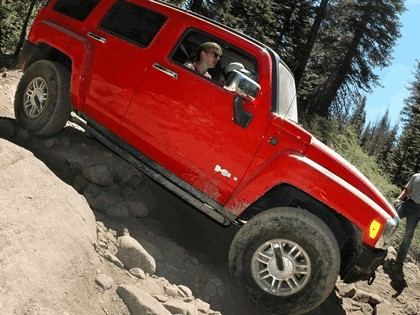 2007 Hummer H3 Rubicon Trail Off-road 3