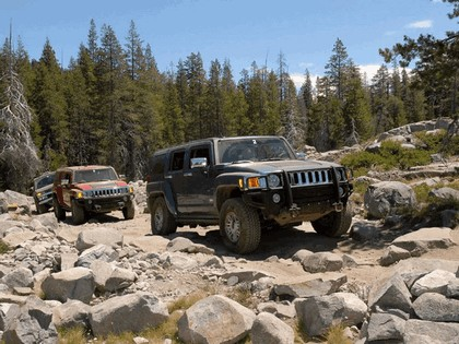 2007 Hummer H3 Rubicon Trail Off-road 10