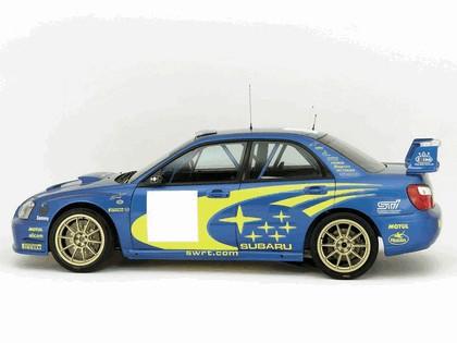 2003 Subaru Impreza WRC prototype 2