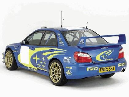 2003 Subaru Impreza WRC prototype 3