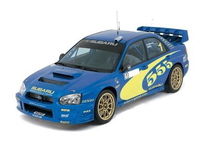 2003 Subaru Impreza WRC prototype 4