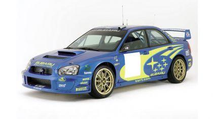 2003 Subaru Impreza WRC prototype 9