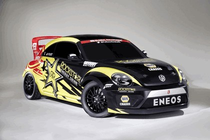 2014 Volkswagen Beetle Red Bull Global Rallycross series 1