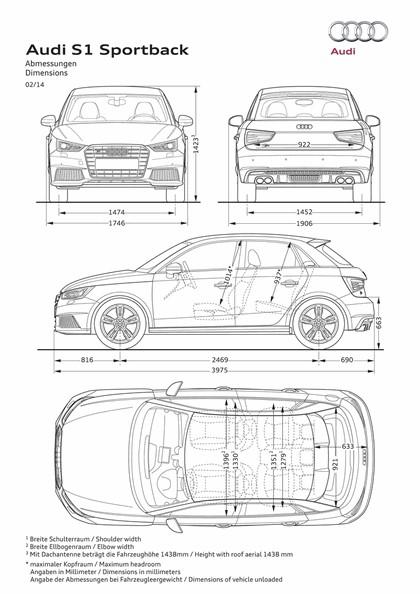 2014 Audi S1 Sportback 12