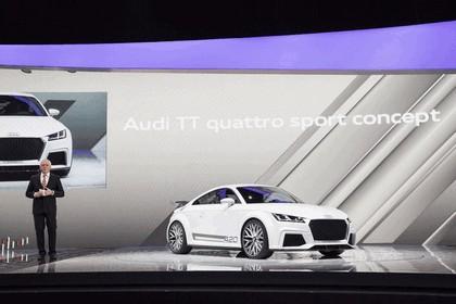 2014 Audi TT Quattro Sport concept 5