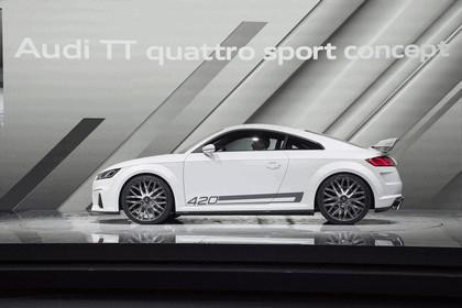 2014 Audi TT Quattro Sport concept 8