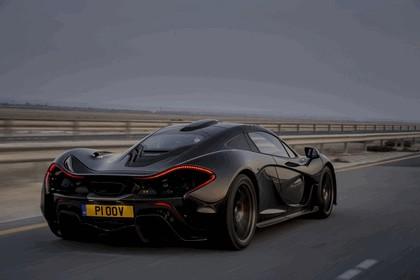 2014 McLaren P1 - Bahrain test 9