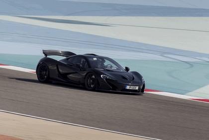 2014 McLaren P1 - Bahrain test 15