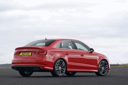 2013 Audi S3 saloon - UK version 2
